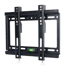 Flat TV Wall Mount Bracket LCD LED Screen 17 19 22 23 24 26 27 32 37 40 42 Inch