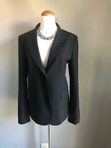 York Sort Dkny To Jakke Karriere Donna Blazer Sz New Karen Kvinder 8 Button qrqftIUB