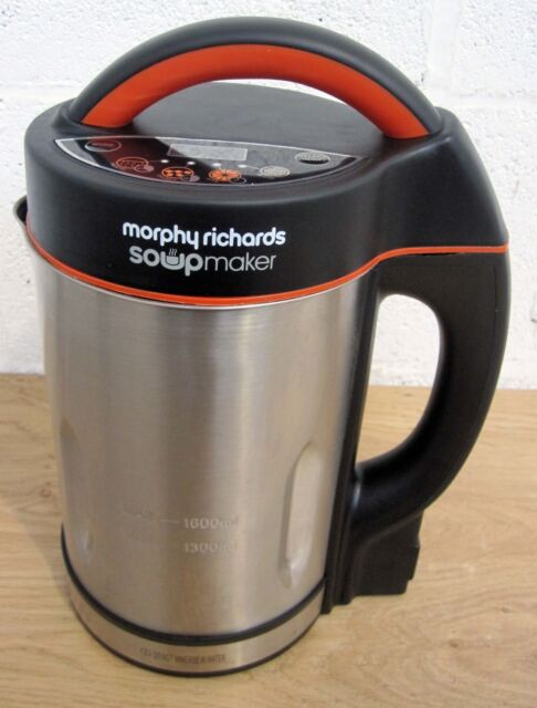 Morphy Richards Soupmaker 48822 Stainless Steel Soup Maker