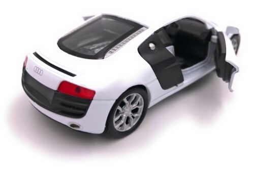 AUDI r8 modello di auto auto prodotto con licenza scala 1:34-1:39