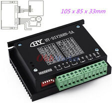 Single Axis TB6600 0.2-5A CNC Engrave Machine Driver Controller Stepper Motor US