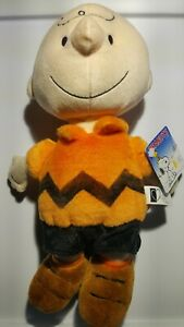 Peanuts-Charlie-Brown-Kohls-Cares-12-039-039-Plush-Doll-Stuffed-Animal-Toy-NWT-orange