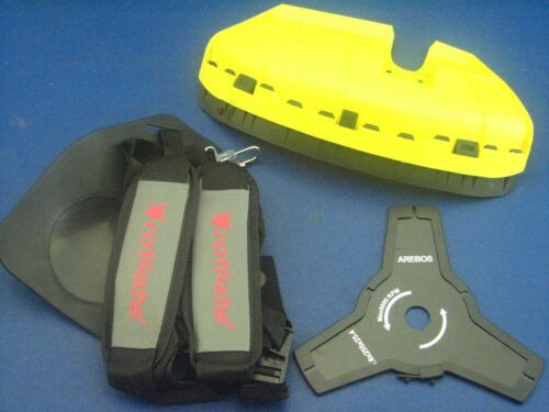 Schneidschutz Schultergurt 3-Zahn Messer für Zipper 52ccm Motorsense