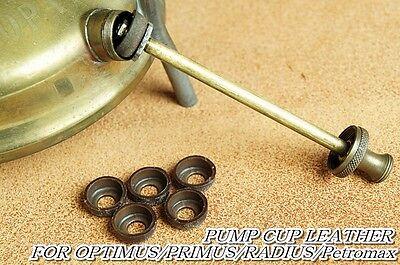 Leather Pump cups 5 pcs Pressure Lantern,Stove,Primus/Optimus/Radius