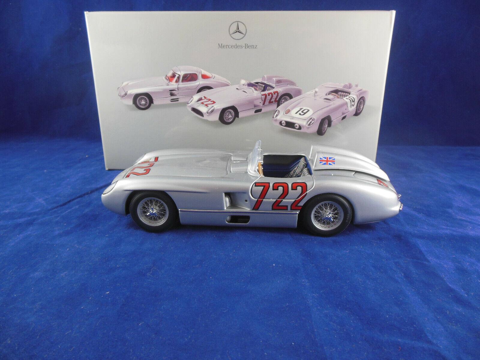 MINICHAMPS B6 604 0242 1955 Mercedes  Benz 300 SLR Sieger Mille Miglia 1 24 sur  le magasin