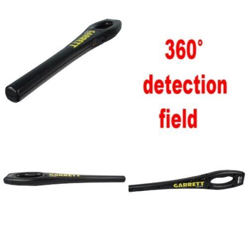 Garrett SuperWand Metal Detector Scanner Hand Held Handled 360° Detection Field