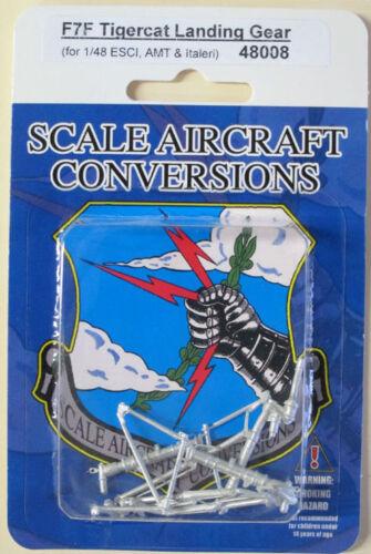 AMT//Ertl F7F Tigercat Gear For 1//48th Scale Esci Italeri Model  SAC 48008