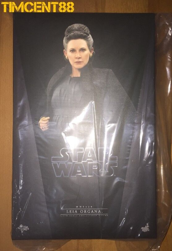 Ready  Hot Toys MMS459 Star Wars The Last Jedi Leia Organa 1 6 Carrie Fisher New