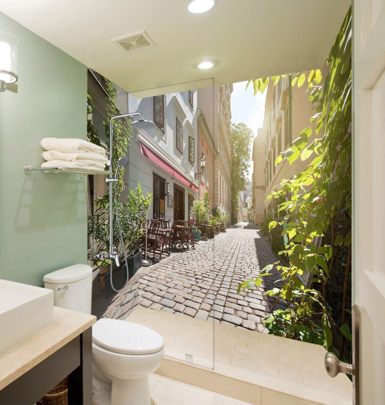 3D Sunshine house 57 WallPaper Bathroom Print Decal Wall Deco AJ WALLPAPER UK