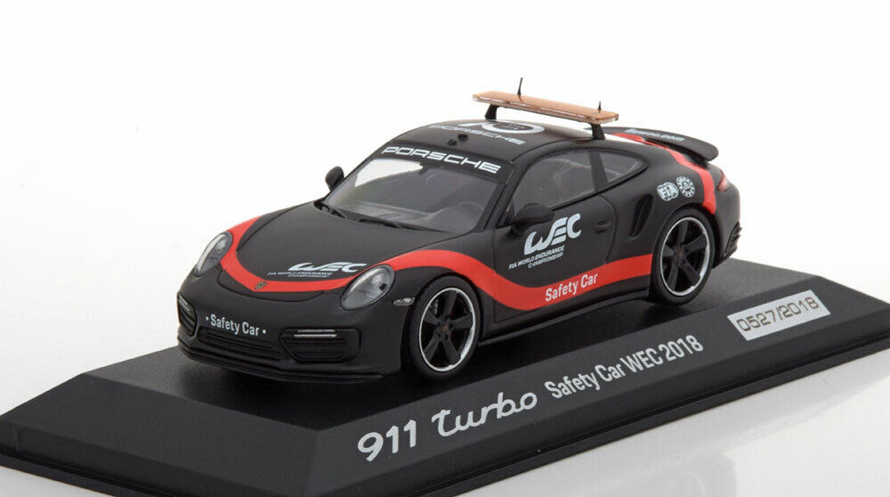 PORSCHE 911 991 TURBO WEC SAFETY CAR 2018 MINICHAMPS WAP0209270K 1 43 RESINE