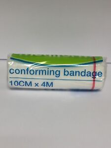 Details about MEDIFORM CONFORMING BANDAGE 10CM X 4M