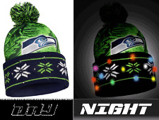 b07d03fe52a item 3 NFL LED Light Up Big Logo Winter Christmas Beanie Forever  Collectibles -NFL LED Light Up Big Logo Winter Christmas Beanie Forever  Collectibles