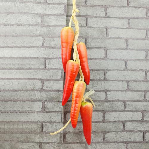 Creative Plastic String Artificial Onion Garlic Fake Vegetables Party Decor Prop