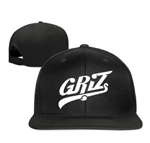 Snapback-Clean-up-Adjustable-Baseball-Cap-Griz-Pop-Logo-Hip-Hop-Hat-and-Cap