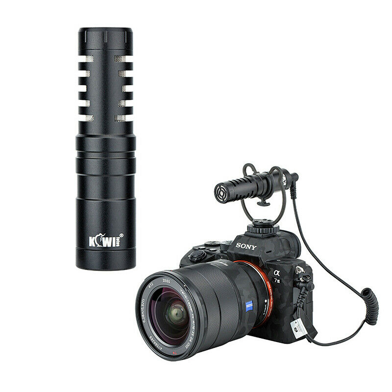 Km-Vl1 Cardioid Microphone For Dslr Mirrorless Cameras Camcorder Hot Shoe Mount