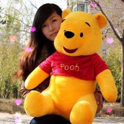 """32/"""" Animal Jumbo Winnie the Pooh Bear Huge Plush Toy Stuffed Animal Doll"""