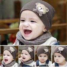 Unisex Brown Cotton Hat For New Born Kid Child Baby Boy/Girl Soft Toddler Cap CN