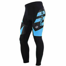 Thermal Fleece Bicycle Pants Winter Bike Trousers Padded Men Warm Sports Bottoms