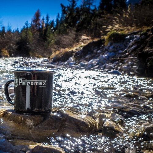 Petromax Black Enamel Camping Mug