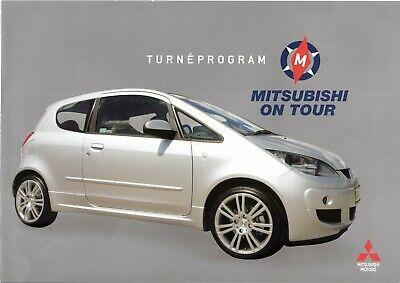 Goedhartig Prospekt / Brochure Mitsubishi Modelle 2005 +++schweden+++