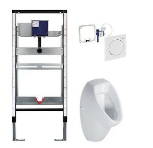 urinal element mit geberit fertigbauset urinal vorwandelement ebay. Black Bedroom Furniture Sets. Home Design Ideas