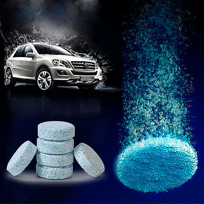 New Windshield Glass Washer Cleaner Compact Effervescent Tablets Detergent