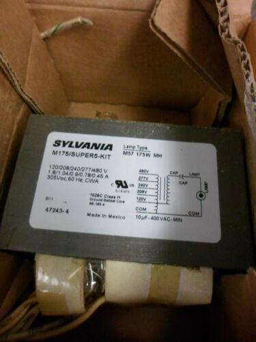 SYLVANIA M175//SUPER5-KIT 47243-4 METALARC 120-480 V MAGNETIC BALLAST KIT NIB