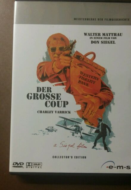 DVD Charley Varrick - Der große Coup - Collector`s Edition (2008) Selten OOP Top