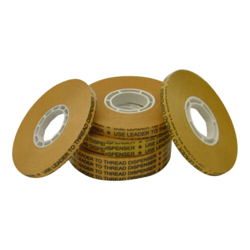 Clear JVCC ATG-7502 ATG Tape: 1//4 in *for pink glider x 36 yds. 6 Pack