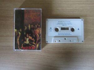 SKID-ROW-Slave-To-The-Grind-11-Tracks-1991-Korea-Edition-Cassette-Tape-RARE