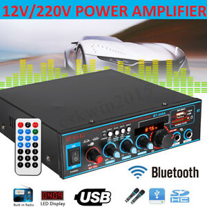 800W-HIFI-digitale-bluetooth-Stereo-amplificatore-Audio-SD-FM-Radio-Mic-Car-Home