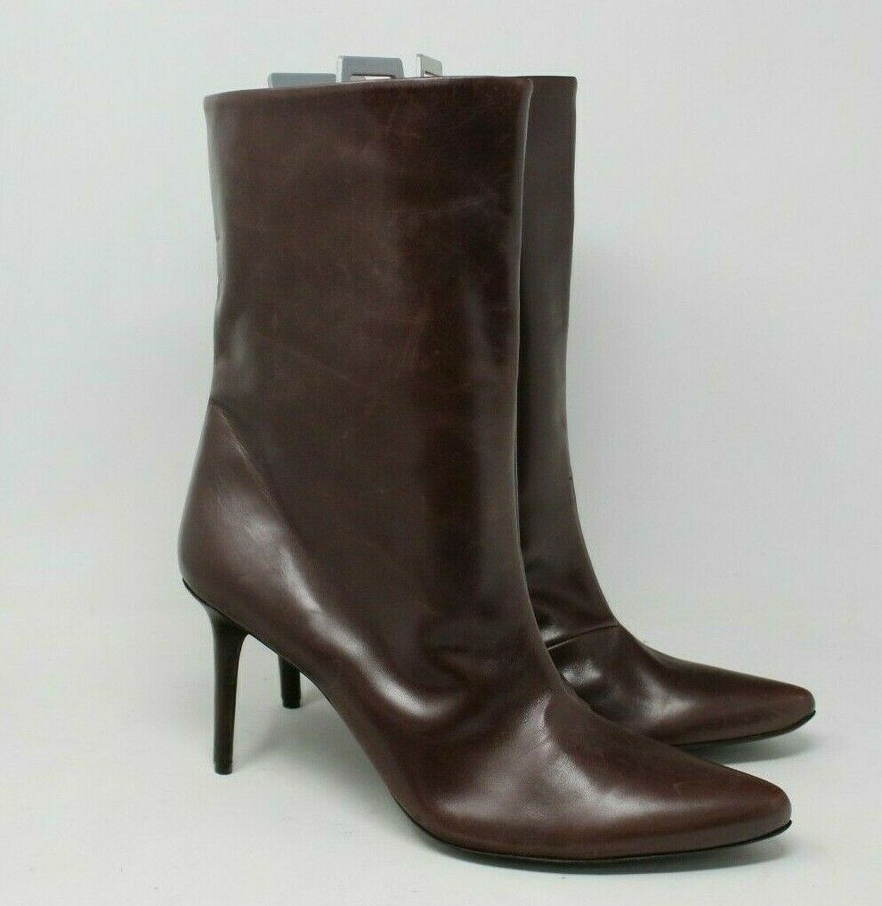 BCBGMAXAZRIA Women's Point Toe Ankle Boot in Brown Size  42 EUR