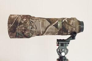 Cubierta-de-Lente-de-camuflaje-para-Tamron-150-600mm-NEOPRENO-CAMO