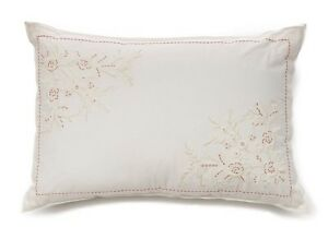 CHAPS-Home-GARDEN-COVE-Pillow-Size-12-x-18-034-NEW-Decorative-Throw-Embroidery