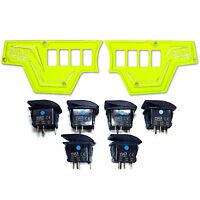 Usa W/warranty Dash Panels With Switches Lime Squeeze Polaris Rzr Xp 1000 2015