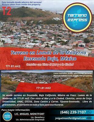 venta de terrenos en Ensenada en frac.  lomas de la moderna