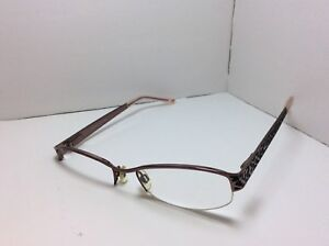 2f6ab129b3d Image is loading Daisy-Feuntes-Eyeglasses-FRAMES-Estelle-118-Taupe-Black-