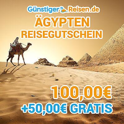 100€ Reisegutschein + 50€ Cashbackgutschein - Ägypten Fabriken Und Minen