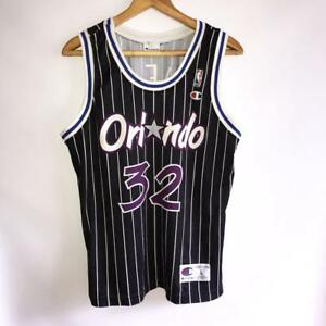 detailed look 3a987 6dad3 Details about RARE NBA ORLANDO MAGIC #32 SHAQUILLE O'NEAL VINTAGE 90S SHIRT  JERSEY CHAMPION