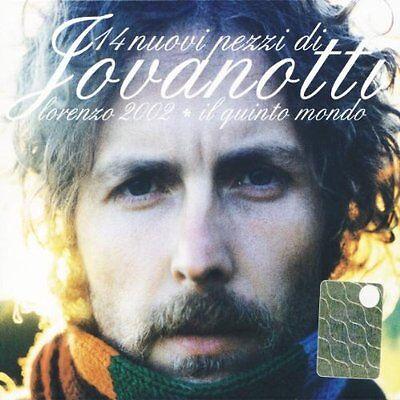 JOVANOTTI LORENZO - IL QUINTO MONDO - LORENZO 2002 - CD NUOVO SIGILLATO