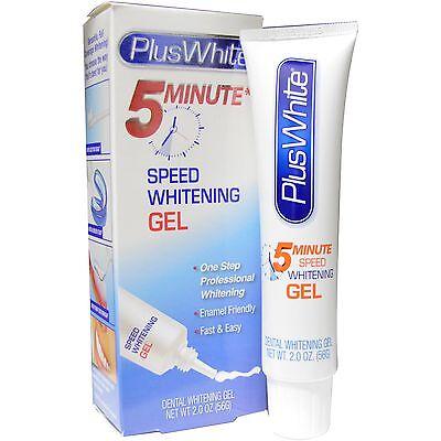 Plus White 5 Minute Premier Whitening Bleach Gel 2 ounce