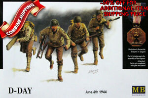 Master-Box-3520-WWII-US-Army-D-Day-Omaha-6th-June-1944-4Fig-plastic-kit-1-35