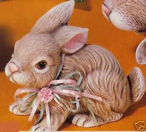 ceramic bisque ready to paint small realistic bunny ebay