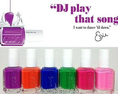 Essie Nail Lacquer Neon Dj Play That Song Collection 0 46oz Pick Any Color Ebay