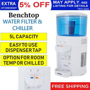 5L-Home-Water-Cooler-Chiller-Office-Bench-Filtered-Dispenser-Tap-Cold-Filter-AU