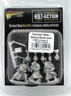 Winter Bolt Action 2nd Edition: German Heer Medium Mortar Team ADD'L ITEMS SH