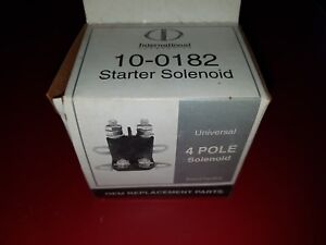 Details about NEW SOLENOID FOR SMALL ENGINE REMOTE STARTER 10-0182