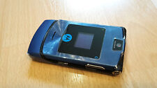 Motorola RAZR V3i blau / foliert / ohne Simlock / ohne Branding *WIE NEU*