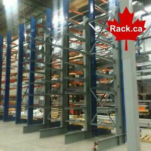 Regular Duty Structural Cantilever Racking - OUR PRICES CAN NOT BE BEAT! In Stock Ready For Quick Ship Kitchener Area Preview
