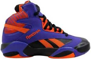72a86d78315 Reebok Shaq Attaq Black Purple-Orange Big Shaqtus Men s V61029 SZ 11 ...